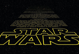 Noordwand/Komar Disney Edition4 Fotobehang 8-487 Stars Wars Intro/Film Behang