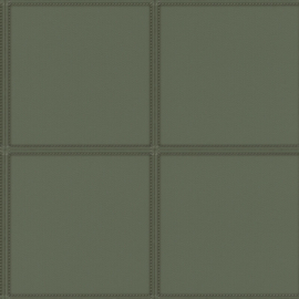 Rasch Club Behang 419023 Modern/Leer effect/Blokken/Stiksels/Natuurlijk