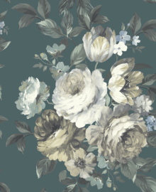 Nina Hancock/Stonyhurst NH50004 Bloemen/Rozen/Klassiek/Romantisch Behang - Dutch Wallcoverings