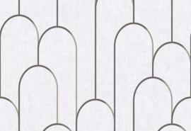 Hookedonwalls Moments Behang MO22832 Modern/Grafisch/Bogen
