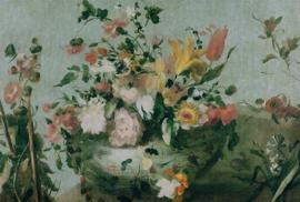 8006 Flowers Painted Memories - Dutch Wallcoverings
