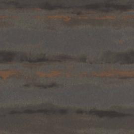 Rasch Amiata 296111 Aquarel/Strepen/Modern/Natuurlijk/Grijs/Koper Behang