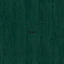 Origin Matieres Wood Behang 348-347557 Hout/Modern/Groen