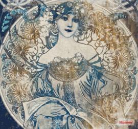 Komar/Noordwand Heritage Edition1 Fotobehang HX6-041 Porcelaine/Vrouw/Klassiek/Romantisch Behang
