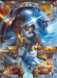Noordwand/Komar Disney Edition4 Fotobehang 4-441 Star Wars Luke Skywalker Collage/Film Behang