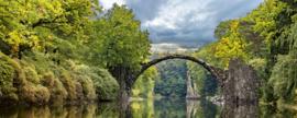 Dimex Fotobehang Arch Bridge MP-2-0060 Panorama/Natuur/Landschap/Brug