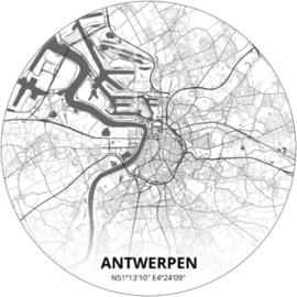Noordwand Topchic 2021/2023 City Circles Behang Antwerpen CCA3/Steden/Cirkel/Belgie