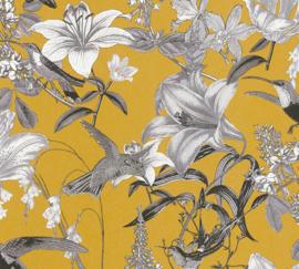 AS Creation Jungle Chic Behang 37701-3 Botanisch/Bloemen/Vogels