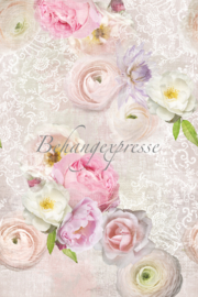 Behangexpresse ColorChoc Behang INK6064 Romantisch/Bloemen/Lacy Spring Fotobehang