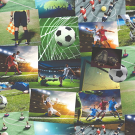 Freestyle FD41915 Voetbal Behang -Dutch Wallcoverings