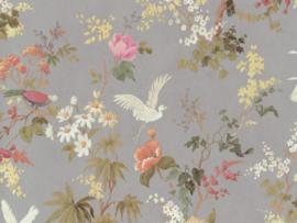 BN Wallcoverings/Voca Fiore Behang 220482 Blooming/Bloemen/Floral/Vogels/Landelijk