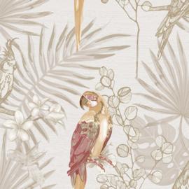Noordwand Casa Mood Behang 27001 Papegaai/Bloemen/Botanisch/Natuurlijk