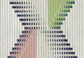 Hookedonwalls Sketch Behang 19600 Linked/Modern/Grafisch/Lijnen