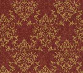 At Walls Odea Behang 46505 Barok/Ornament/Klassiek/Landelijk/Rood/Goud
