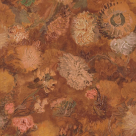 BN Wallcoverings van Gogh 2 Behang 220003 Chinese Aster/Bloemen/Romantisch/Klassiek