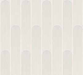 AS Creation New Life Behang 37678-1 Modern/Art Deco/Grafisch/Bogen