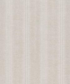 BN Walls/Voca Grounded Behang 220633 Obanzi/Streep/Linnen Structuur/Natuurlijk