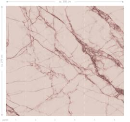 Esta Home Paradise Fotobehang 158949 Pink Marble/Marmer/Steen/Modern/Roze