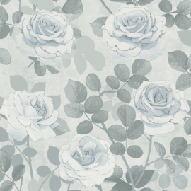 Dutch Wallcoverings Solitar Behang 41018 Bloemen/Modern/Kalk/Beton/Landelijk