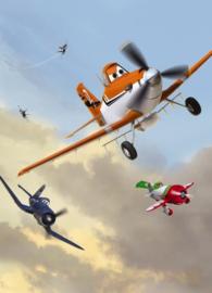 Noordwand/Komar Disney Edition4 Fotobehang 4-452 Planes Dusty and Friends/Vliegtuigen/Lucht/Kinderkamer Behang