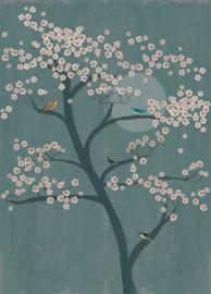 Onszelf Amazing Fotobehang 542134 Boom/Japan/Botanisch/Natuurlijk/Bloesem