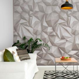 Dutch Wallcoverings One Roll One Motif Behang A35001 3D-Concrete/Beton/Grafisch/Modern