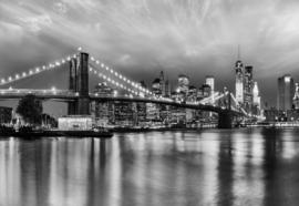 Komar Home Imagine Edition 4 Fotobehang 8-934 Brooklyn B/W/Brug/New York/Steden/Modern