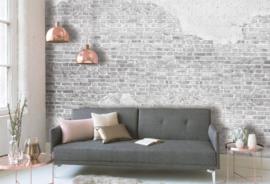 Designwalls Fotobehang DD118770 Old Brick Wall/Bakstenen/Cement/Modern/Industrieel
