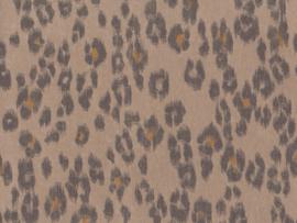 BN Wallcoverings Grand Safari Behang 220552 Exuberant leopard/Dierenhuiden/Luipaard/Natuurlijk/Modern