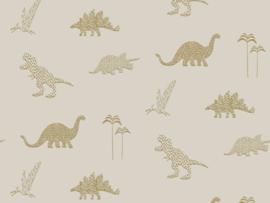 BN Wallcoverings Doodleedo Behang 220781 Dinozoo/Dinosaurus/Dieren/Kinderkamer