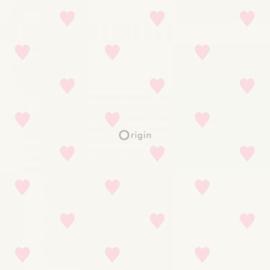 Origin Precious Behang 352-347705 Hartjes/Roze/Kinderkamer