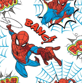 Noordwand Kids@Home Individual Behang 108553 Spider-Man Pow/Spiderman/Strip/Helden/Kinderkamer