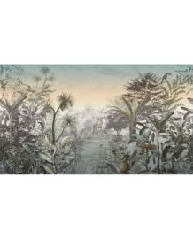 Eijffinger Skin Fotobehang 300612 Into the Wild Sunset/Botanisch/Zonsondergang/Dieren Behang