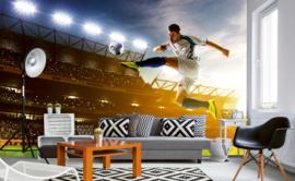Dimex Fotobehang Soccer Player MS-5-0306 Voetbal/Sport/Stadion/Voetballer