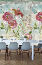 Behangexpresse Special Edition AK1062 My Roses Big/Bloemen/Botanisch/Rozen Fotobehang