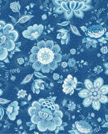 Eijffinger Pip Studio 3 Behang 341013 Folklore Chintz Dark Blue/Romantisch/Bloemen/Blauw