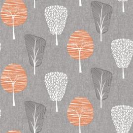 Arthouse Retro House Behang 902400 Tree Orange/Boom/Natuur/60/70 jaren