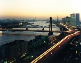 Fotobehang. Rotterdam