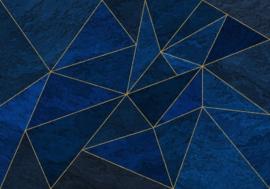 Komar/Noordwand Heritage Edition1 Fotobehang HX8-053 La Mer/Grafisch/Modern/Lijnen Behang