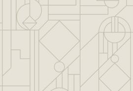 Hookedonwalls Tinted Tiles Behang 29013 Lush/Modern/Grafisch
