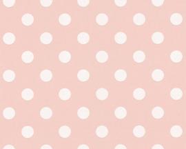 AS Creation Boys & Girls6 Behang 36934-3 Dots/Stippen/Ballen/Roze/Kinderkamer