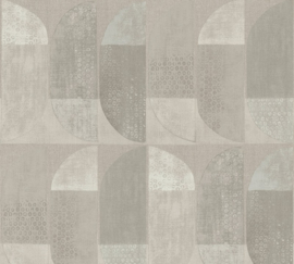 AS Creation Geo Nordic Behang 37531-4 Geometrisch/Modern/Retro/Taupe