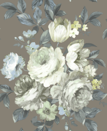 Nina Hancock/Stonyhurst NH50006 Klassiek/Bloemen/Romantisch Behang - Dutch Wallcoverings