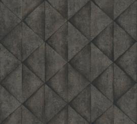 AS Creation Industrial Behang 37742-5 Modern/Driehoek/3D/Industrieel