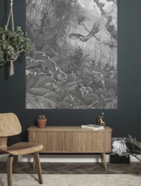Dutch Wallcoverings Kek Behangpaneel PA-008 Tropical Landscape/Flora & Fauna/Natuur/Kek Amsterdam