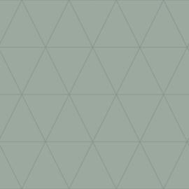 Origin City Chic Behang 353-347714 Grafisch/Modern/Vergrijsd Groen