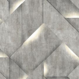 Dutch Wallcoverings Onyx Behang M35209 Modern/Beton/Steen/Blok/3D