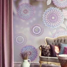 Eijffinger Raval Behang 341600 Tournal Luna/Bloemen/Floral Fotobehang