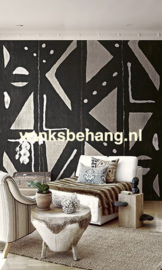 Dutch Wallcoverings Global Style Fotobehang UE81500M Afrikaans Behang