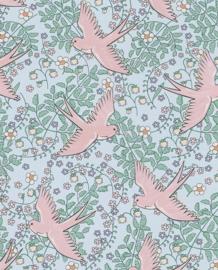 Eijffinger Rice Behang 359024 Vogels/Natuurlijk/Romantisch/Kinderkamer